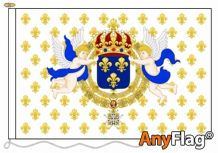ROYAL STANDARD OF THE KING OF FRANCE   ANYFLAG RANGE - VARIOUS SIZES